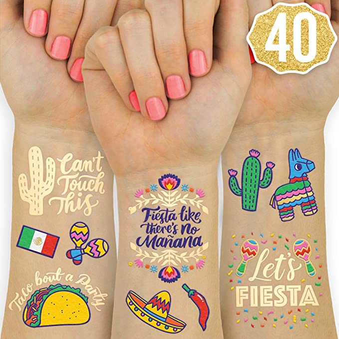 tank shirts cinco de mayo bachelorette party favors Cinco De Mayo Bachelorette Party Decorations Tattoos TATTOOS invitations pinata