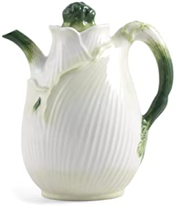 Fennel Decorative Vegetable Ceramic Pitcher
