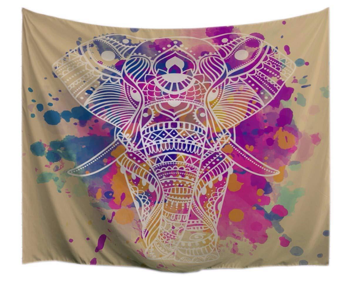 A.Monamour Indian Mandala Tatuaje Tribal Cabeza De Elefante De ...