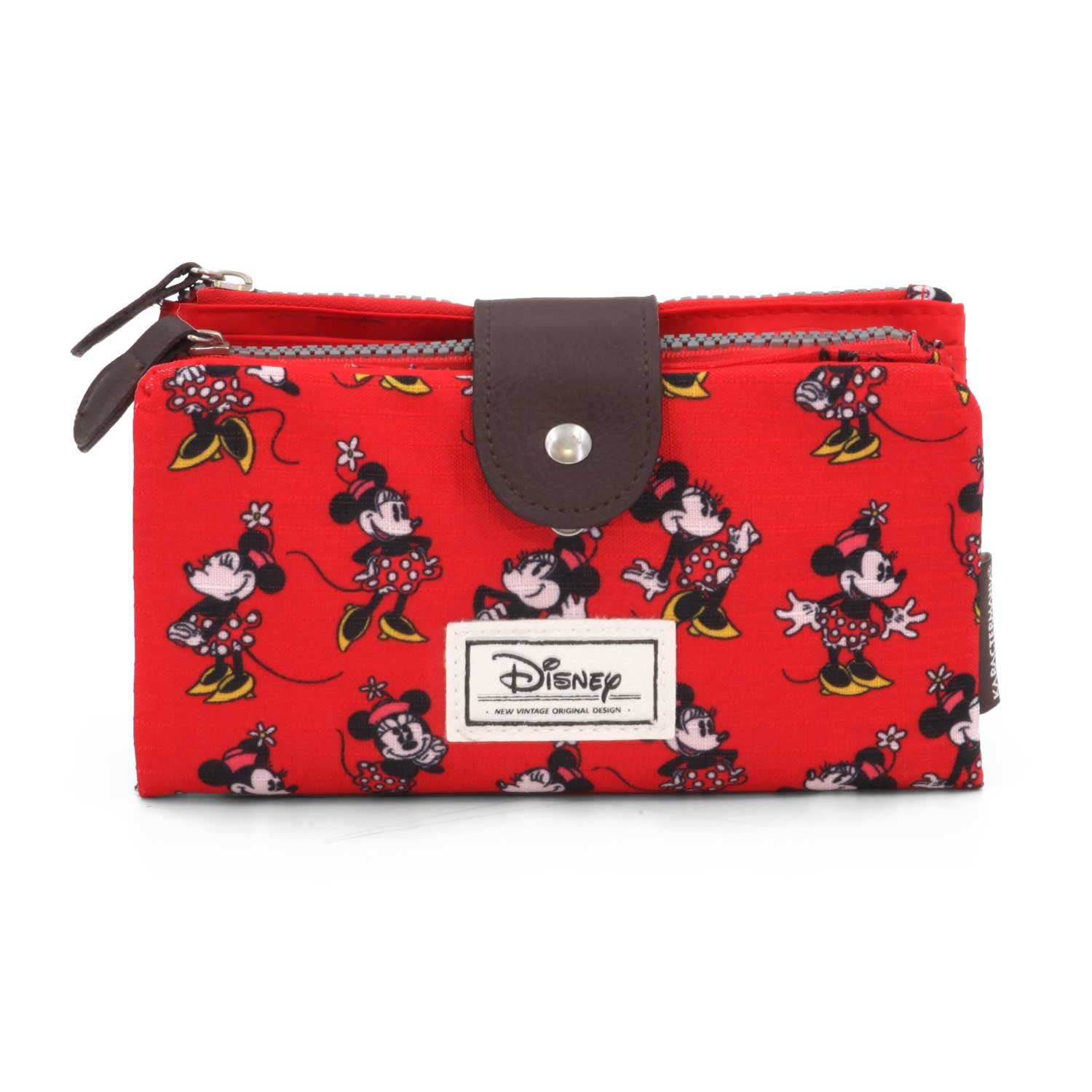 Karactermania Disney Classic Minnie Cheerful Monederos, 18 cm, Rojo