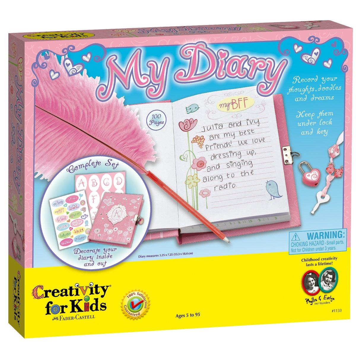 Creativity for Kids - Cfk1133 - Kit De Loisirs Créatifs - Mon Journal Intime 1133000