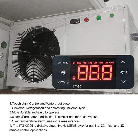 fghdfdhfdgjhh Ajuste KT-301 Controlador de temperatura Termostato ...