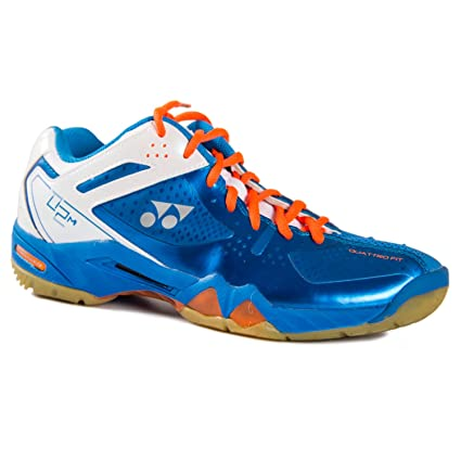 654ca0197d8 Amazon.com: Yonex Men's Pro Cushion SHB-02 MX Badminton Shoe-Blue-12 ...