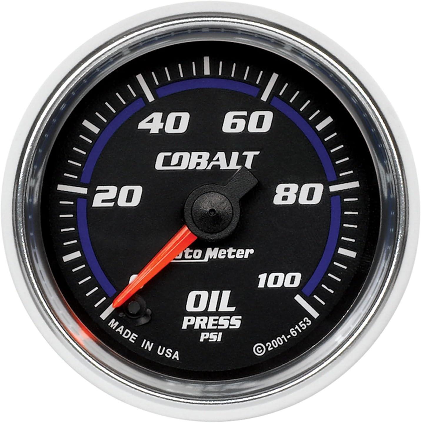 0~100PSI Oil pressure meter Car Motor Digital Blue LED Light Pointer Engine