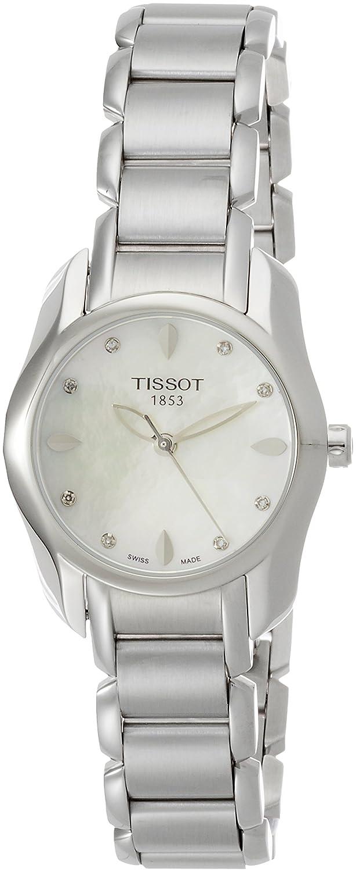 13f12b3c0215 Tissot Reloj Analógico para Mujer de Cuarzo con Correa en Acero Inoxidable  T023.210.11.116.00  Amazon.es  Relojes