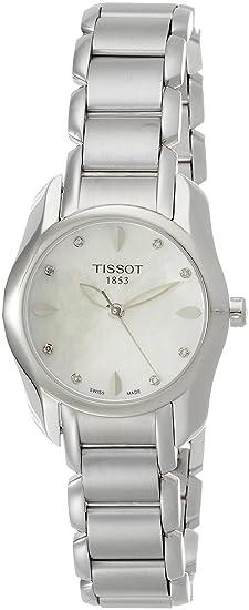 Tissot Reloj Analógico para Mujer de Cuarzo con Correa en Acero Inoxidable T023.210.11.