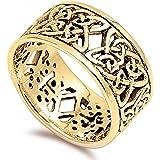 efd524bf44b17 Amazon.com  Art Nouveau Sterling Silver Ornate Repousse Heart ...