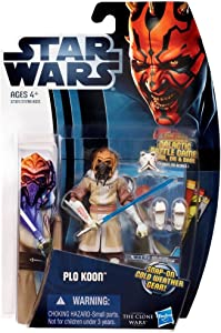 Star Wars: Clone Wars 2012 Animated Series 3.75 inch Plo Koon Action Figure