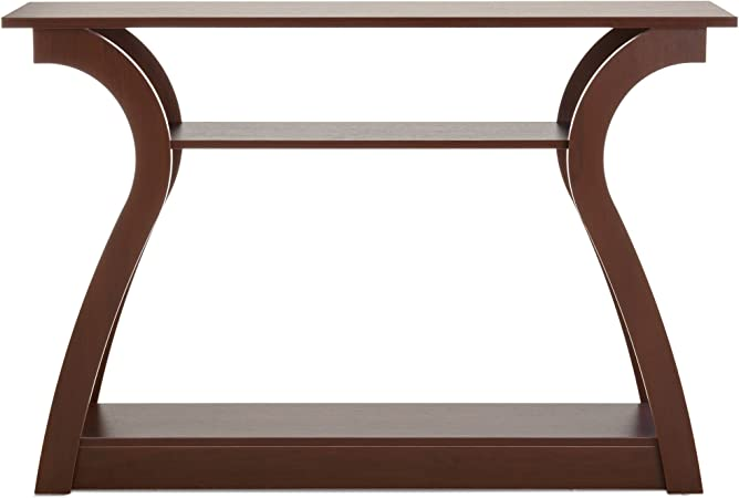 Best Choice Products 47in 3 Shelf Modern Decorative Console Accent Table Furniture For Entryway Living Room Brown Furniture Decor Amazon Com