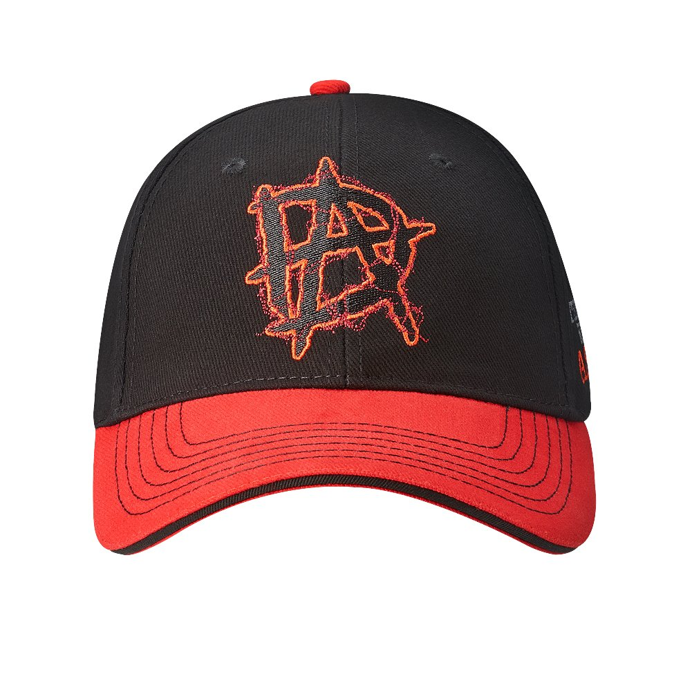 Dean Ambrose This Lunatic Runs The Asylum WWE Authentic Baseball Hat by WWE Authentic