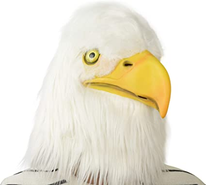 Amazon Com Party Story Eagle Mask Halloween Cosplay Costume Latex Animal Head Masks For Adults Party Decoration Props Toys Games