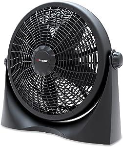 """Lorell LLR84551 3-Speed Tilt Box Fan, 16"""""""