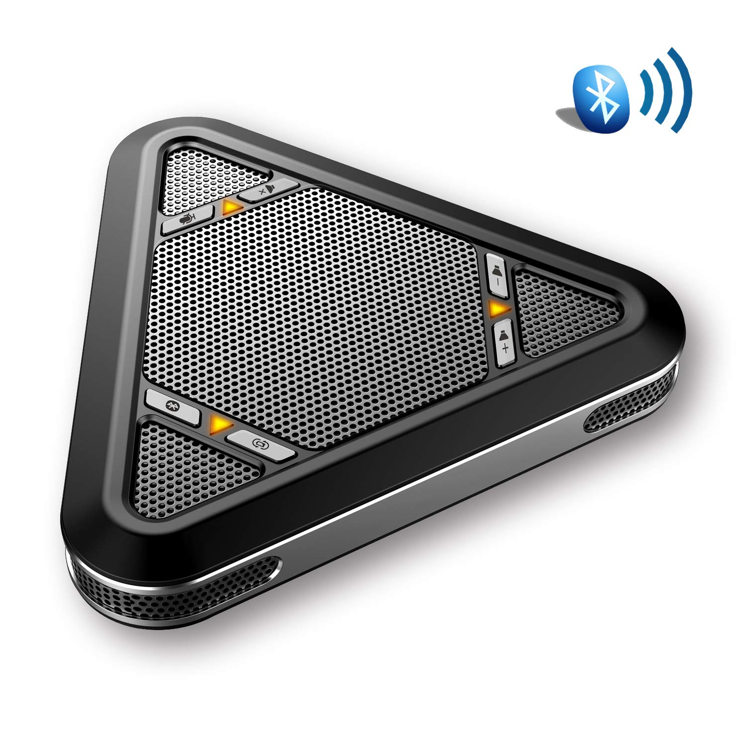 Tenveo Wireless Bluetooth Speaker for Softphone and Mobile Phone, Bluetooth Speakerphone for 5-8 People Business Conference Phone by Tenveo