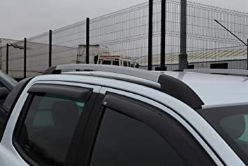 Ford Transit CUSTOM 2013 on LWB STX Aluminium Roof Bars Roof Rails Set