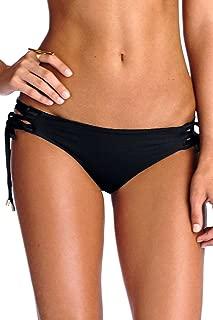 product image for Vitamin A Women's Black Ecolux Ava Corset Hipster Bikini Bottom