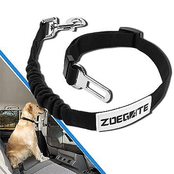 Zoegate cinturón de seguridad para perro, perro, gato, cinturón de seguridad ajustable,