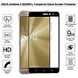 Asus Zenfone 3ze520kl Proteggi Schermo in Vetro Temperato-Fiimi copertura completa con pellicola proteggi schermo per Asus Zenfone 3ze520kl 5.2inch, 9H Durezza, 0,3mm spessore, in vetro vero