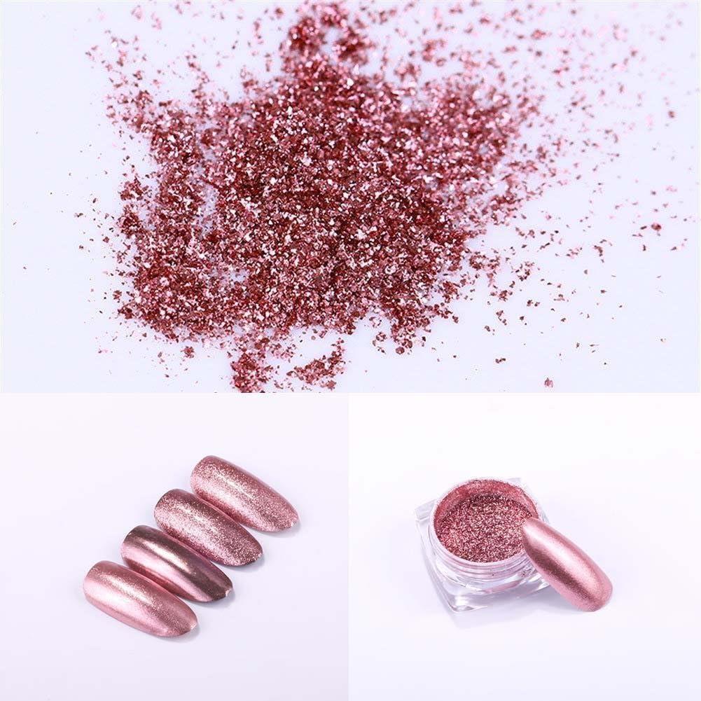 decoración manicura rosada