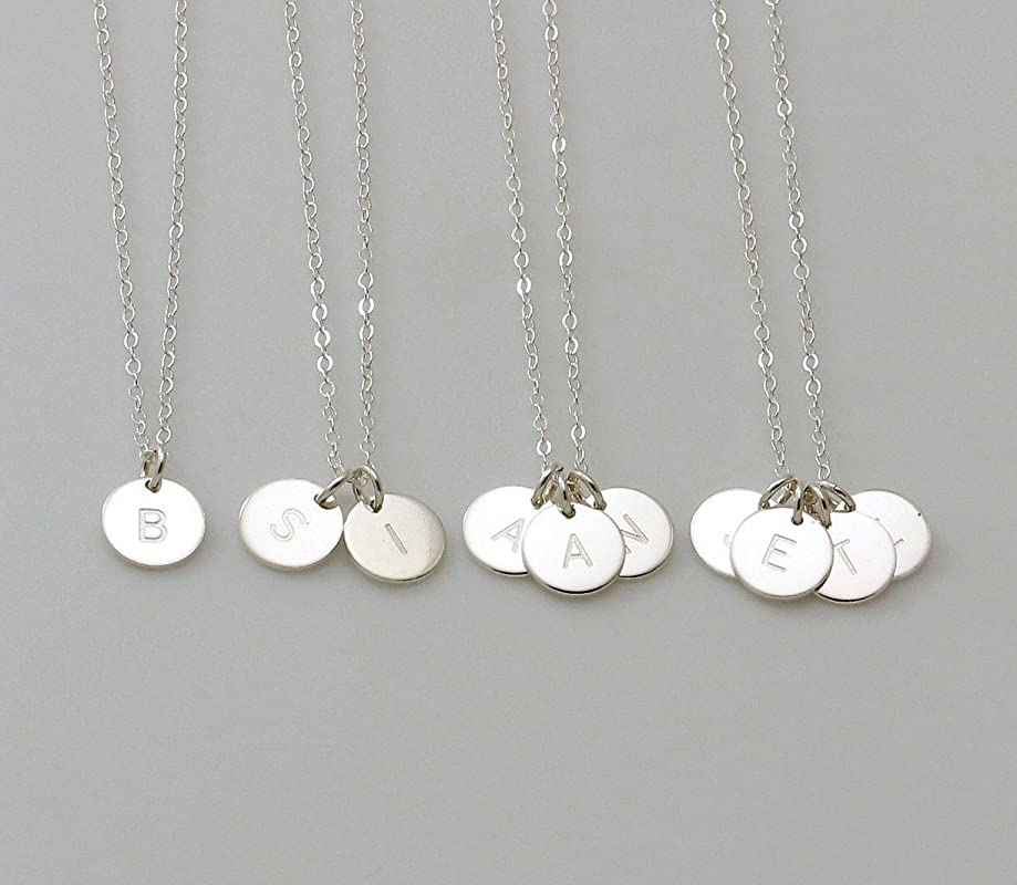 Free Chain /& Gift Box NEW Innovation 2 in 1 Letter G Initial Ring  Pendant wear it as a Initial Ring or a Charm Pendant Necklace in Silver
