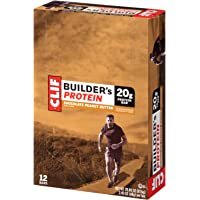 12-Pack Clif Builders Chocolate Peanut Butter Protein Bar (2.4oz.)