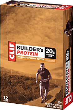 12-Pack Clif Builders Chocolate Peanut Butter Protein Bar