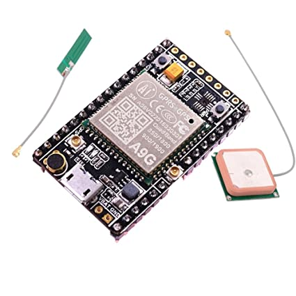 A9G Module GPRS GSM GPS BDS Development Board Quad-Band 800/900/1800 /  1900MHz SMS Voice Wireless Data Transmission IOT with Antenna Geekstory