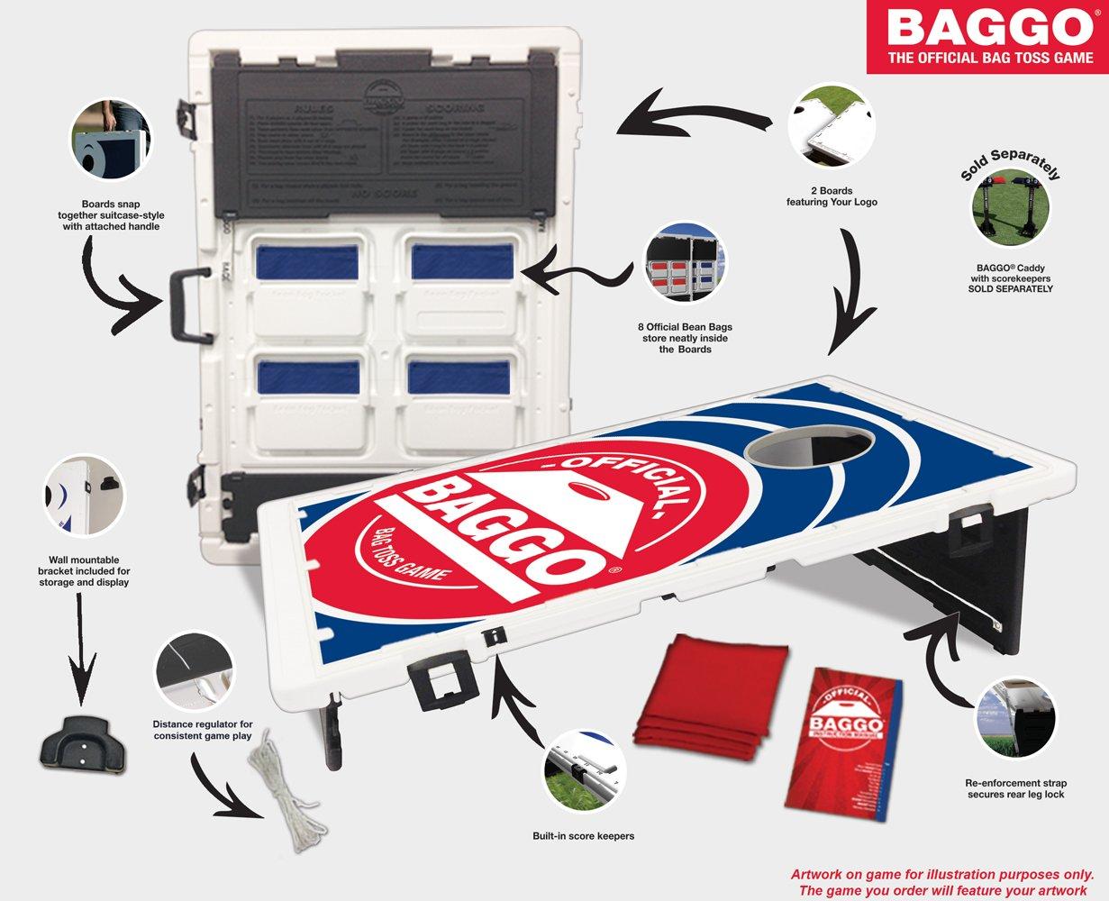 USA American US Flag Baggo Bean Bag Toss Portable Cornhole Tailgate Game with by Baggo (Image #2)