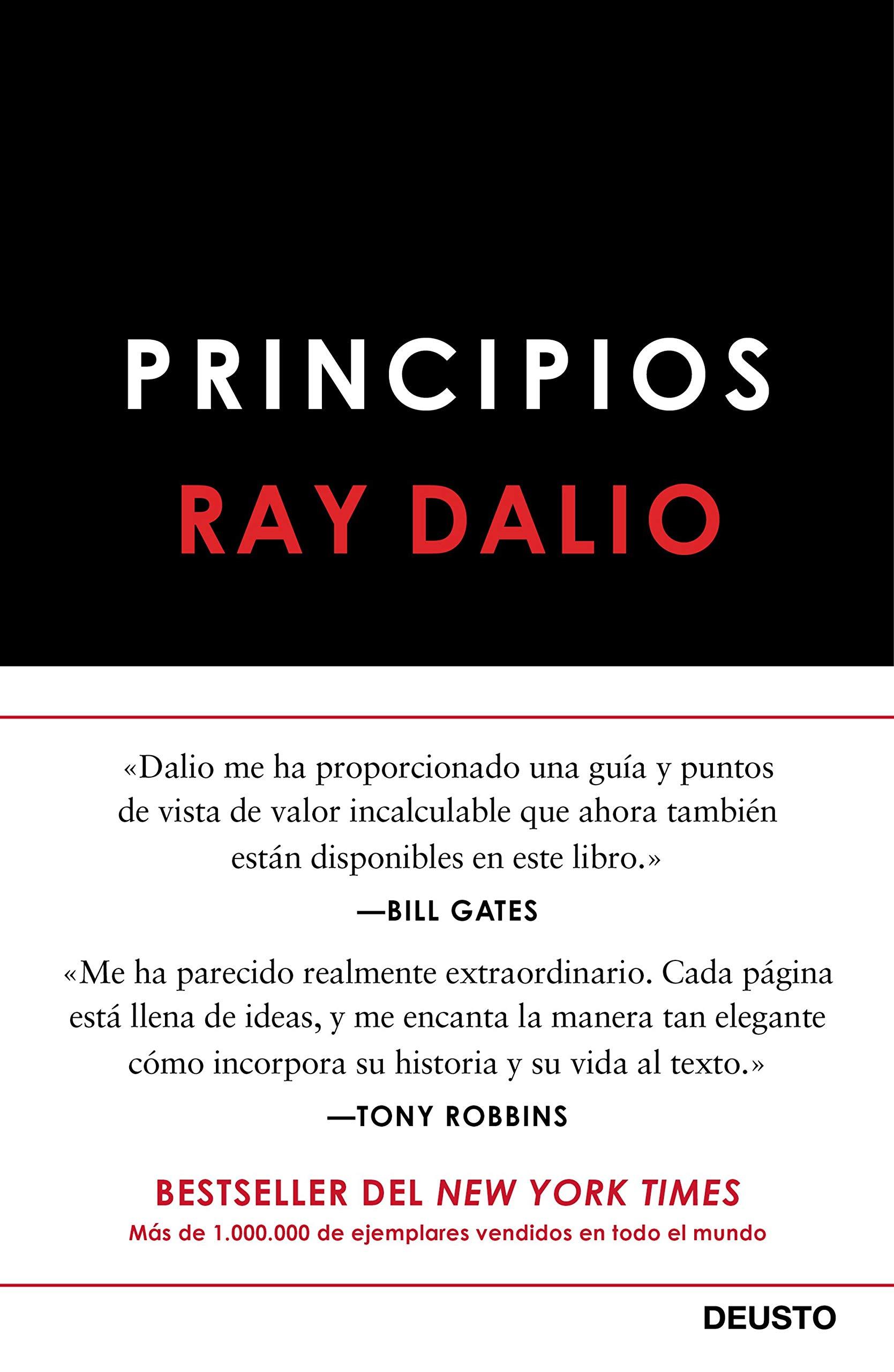 Principios (Sin colección) Tapa dura – 27 nov 2018 Ray Dalio Deusto 8423430022 Finance