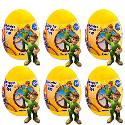 Amazon Com Disney Peter Pan Party Favors Pack 6 Fisher Price