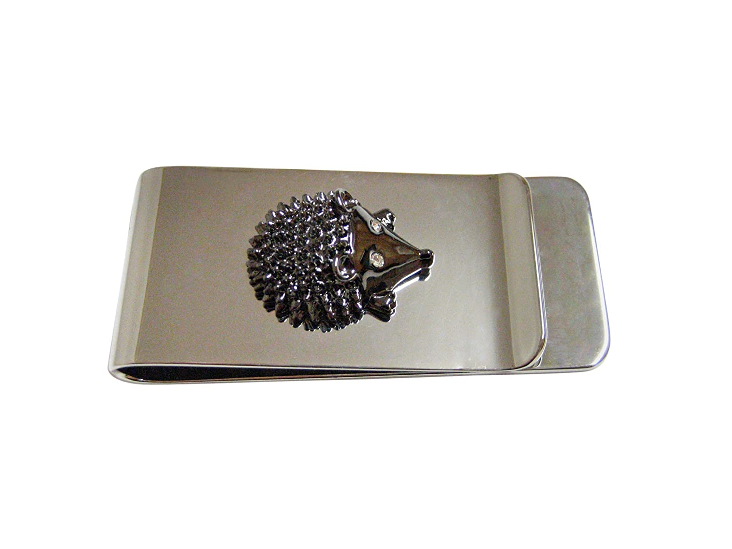 Gunmetal Hedgehog Money Clip