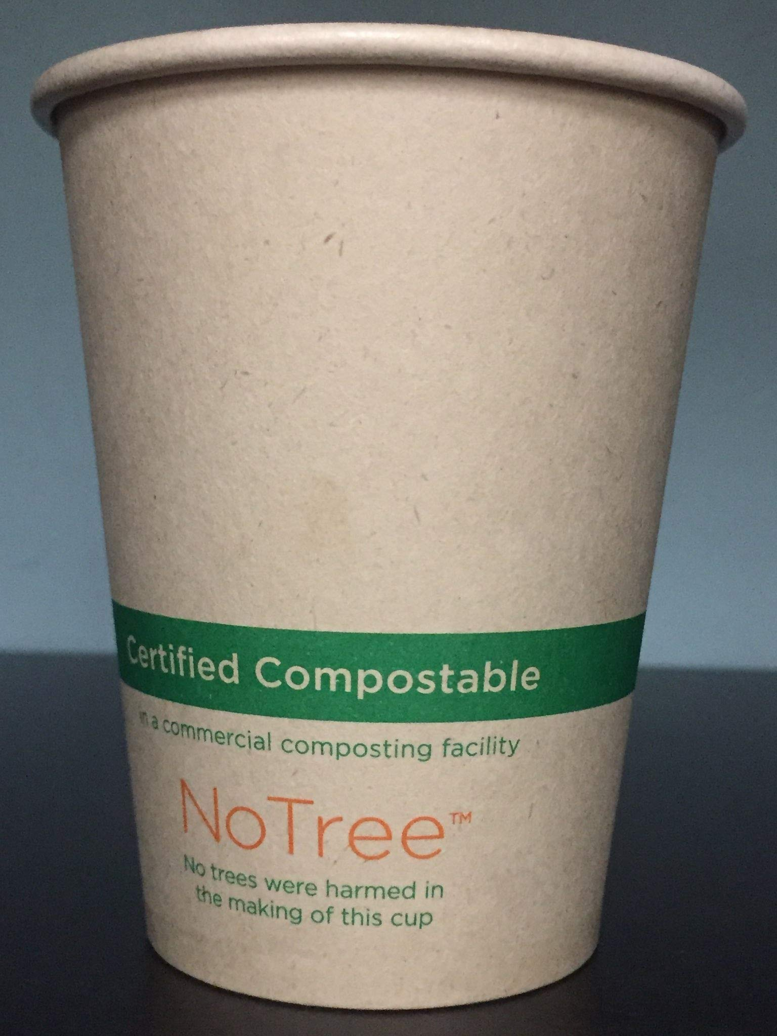 World Centric's Compostable 8 Ounce Kraft - Paper Hot Cup with PLA Lining (Case of 1000)
