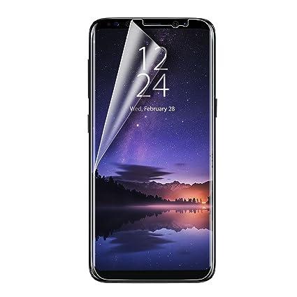 finest selection 2f24e 90688 Amazon.com: Olixar Samsung Galaxy S9 Plus Screen Protector - Film ...
