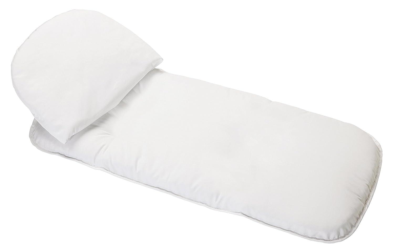 Peg-Pérego COMANTISOFOCO - Conjunto de colchón y cojín para capazo, color blanco Peg Perego Y5WAMATRAT