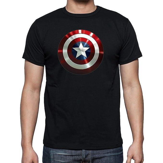 The Fan Tee Camiseta de Mujer Capitan America Superheroes Vengadores S