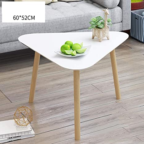 Amazon.com: Mesa de centro moderna decorativa auxiliar con ...