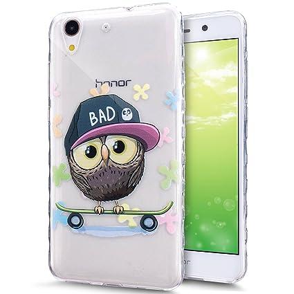 Amazon.com: Huawei Y6 II Caso, Huawei Y6 II Protectora ...