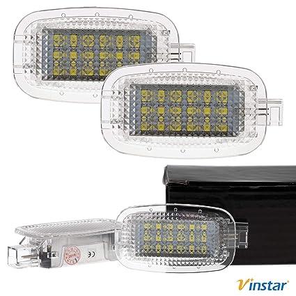 VINSTAR - Luces LED para guantera para Mercedes Benz W204 ...