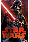 Star Wars Darth Vader Couverture en polaire, Polyester, Multicolore, Unique