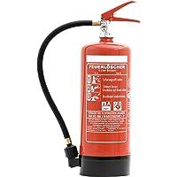 Feuerlöscher 6L Schaum mit Manometer + Wandhalter DIN EN 3 + ANDRIS® ISO-Symbolschild + Prüfnachweis