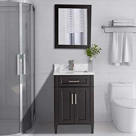 Amazon Com Vanity Art 24 Inch Single Sink Bathroom Vanity Set