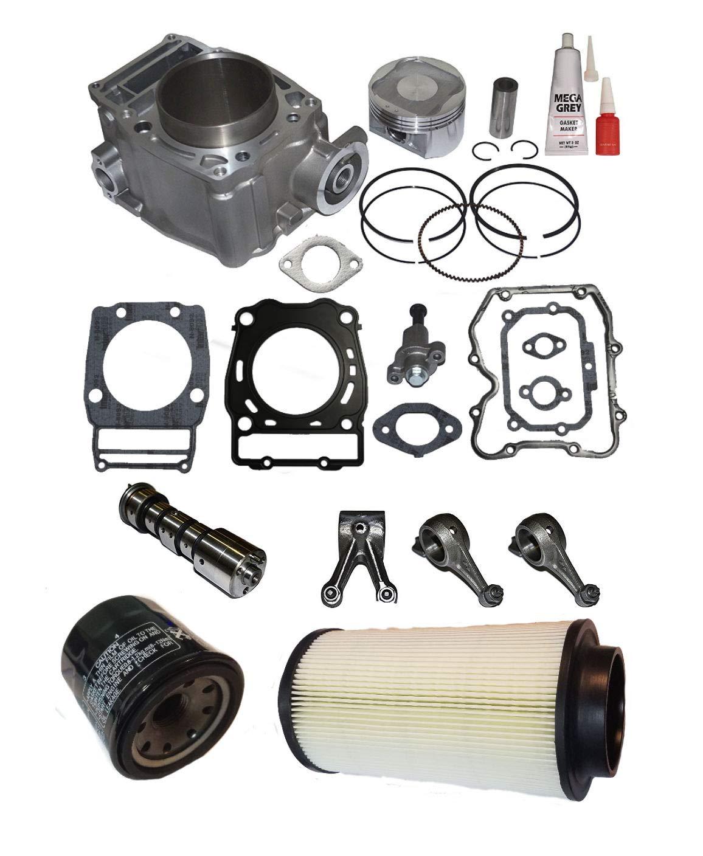 Cylinder Piston Gasket Top End Kit for Polaris Magnum 500 1999-2003