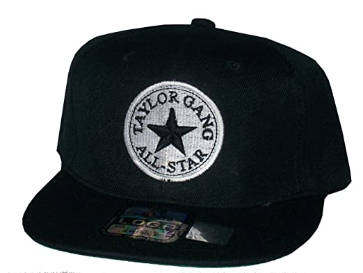 26179ee12b2e5 Image Unavailable. Image not available for. Color  Rob sTees Taylor Gang  All Star Black Wiz Khalifa Snapback Hat Cap