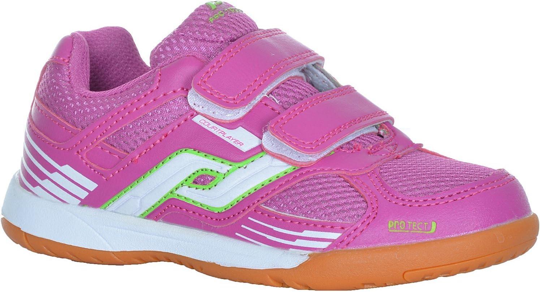 Pro Touch con velcro De color verde//azul//blanco Zapatillas para deportes de pista