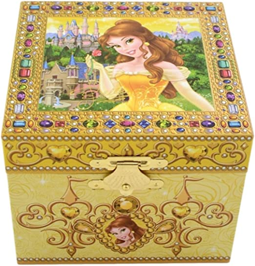 Disney Parks Exclusive Belle Beauty & the Beast Musical Jewelry Box: Amazon.es: Hogar