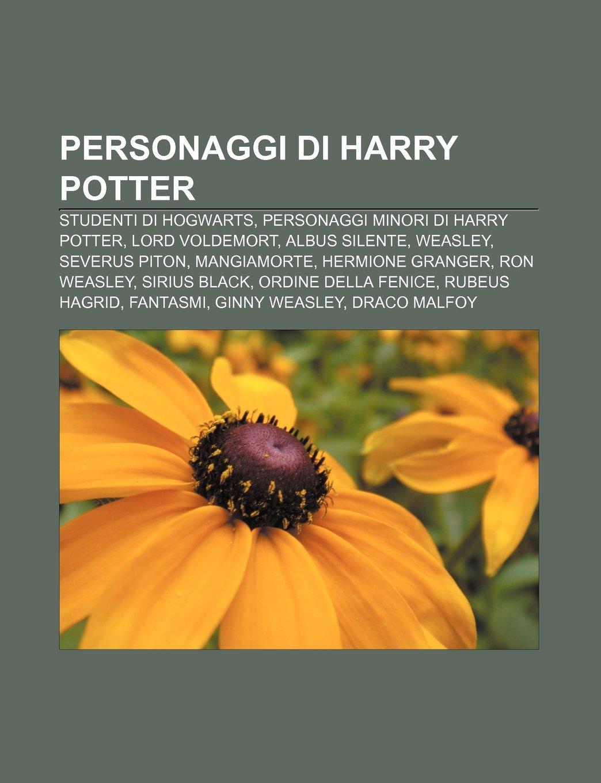 Personaggi di Harry Potter: Studenti di Hogwarts, Personaggi ...