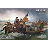 Drunk History - Crossing The Delaware Poster 36 x 24in