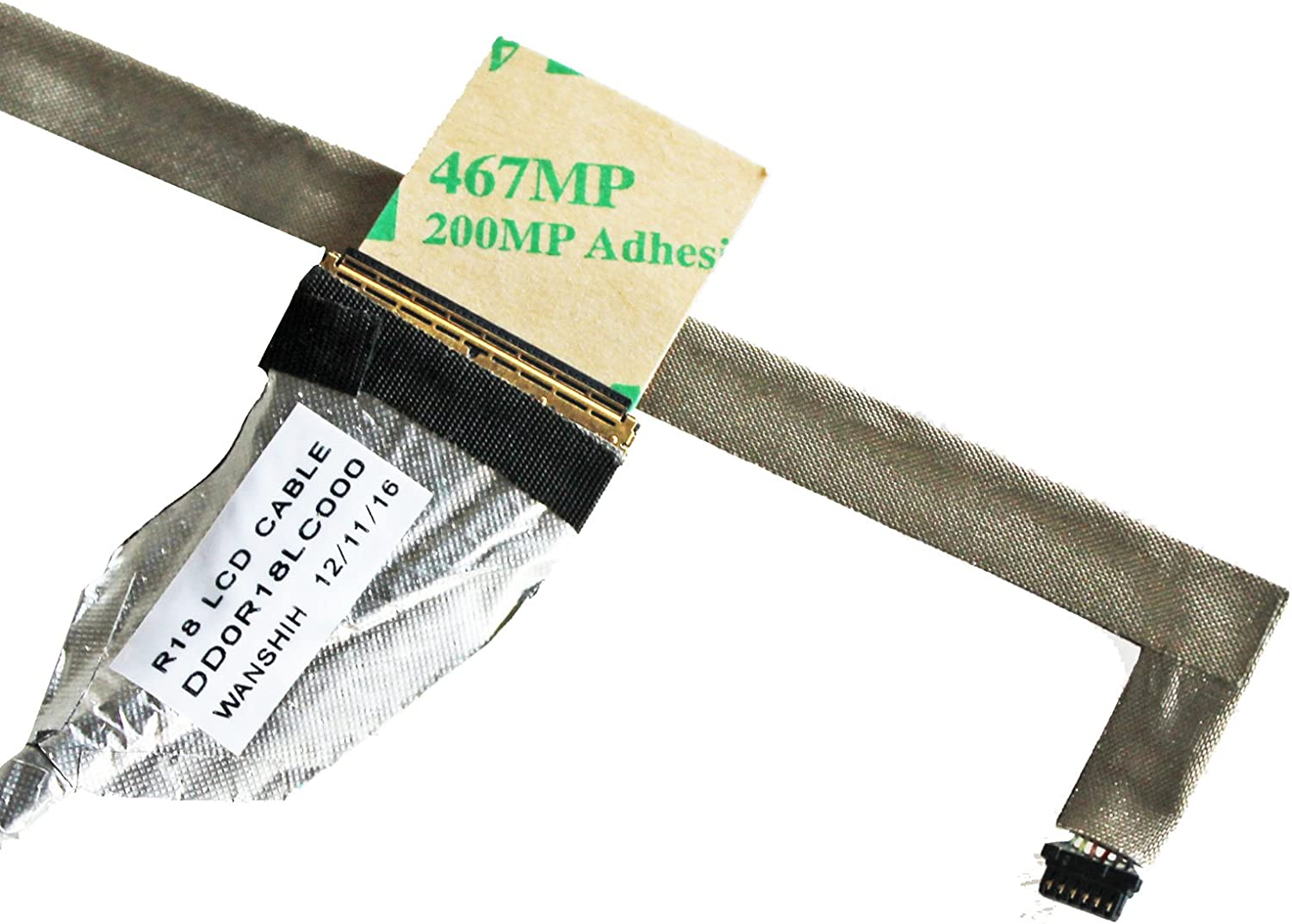 GinTai LCD Screen Video Cable Replacement for HP Pavilion G7-1000 G7-1100 G7-1200 G7-1300 DD0R18LC000