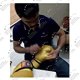 Manny Pacquiao Signed Boxing Glove, Gold. In Gift