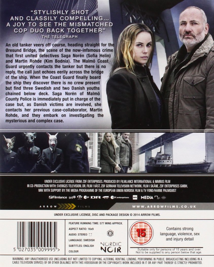Amazon.com: The Bridge (Complete Season 2) - 2-Disc Set ( Bron/Broen ...