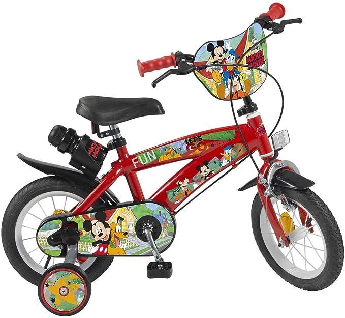 Mickey y Minnie- Bicicleta 12